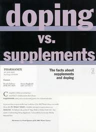 Doping versus Pharmanex
