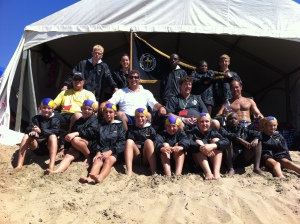 Margate Saints Lifesaving Club team